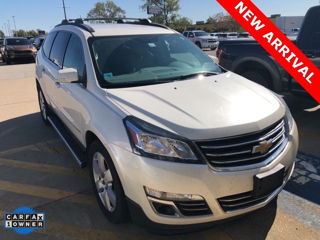 Pre-Owned 2013 Chevrolet Traverse LTZ