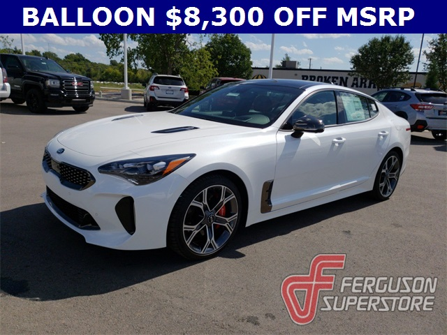 New 2019 Kia Stinger Gt2 4d Hatchback Near Broken Arrow K90232