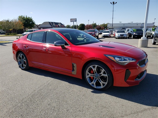 new 2019 kia stinger gt2 4d hatchback near broken arrow