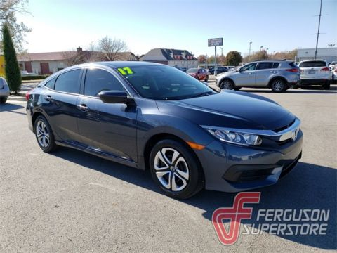 Pre-Owned 2017 Honda Civic LX FWD 4D Sedan near Tulsa, OK