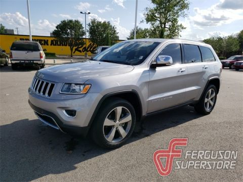 Pre-Owned 2015 Jeep Grand Cherokee Limited 4WD near Tulsa, OK