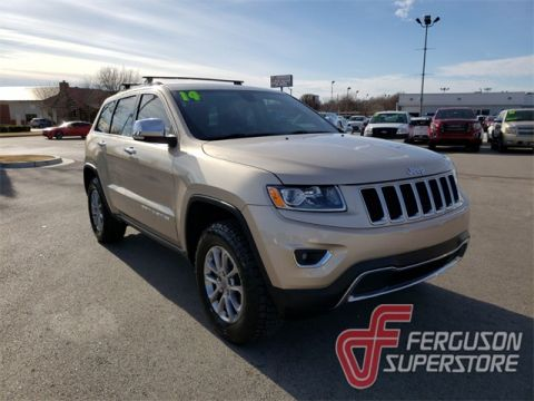 Pre-Owned 2014 Jeep Grand Cherokee Limited 4WD near Tulsa, OK