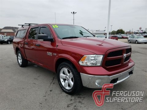 Pre-Owned 2015 Ram 1500 Big Horn RWD 4D Crew Cab near Tulsa, OK