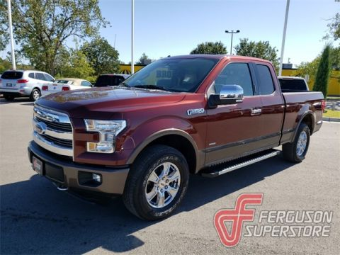 Pre-Owned 2016 Ford F-150 Lariat 4WD near Tulsa, OK