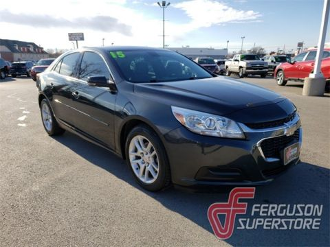 Pre-Owned 2015 Chevrolet Malibu LT FWD 4D Sedan near Tulsa, OK