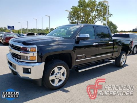 Pre-Owned 2015 Chevrolet Silverado 2500HD LTZ 4WD near Tulsa, OK