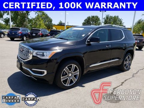 Certified Pre-Owned 2019 GMC Acadia Denali AWD near Tulsa, OK