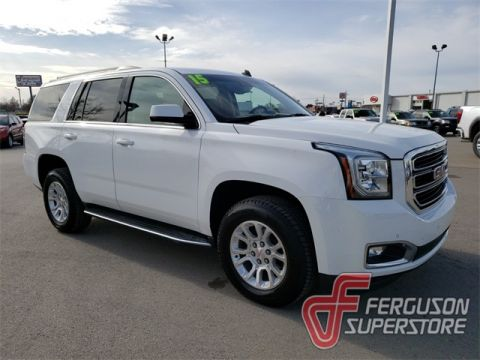 Pre-Owned 2015 GMC Yukon SLT With Navigation & 4WD near Tulsa, OK