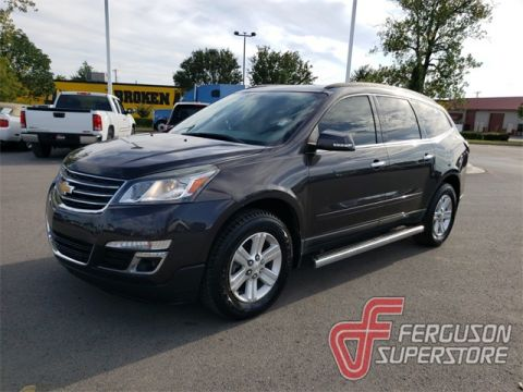 Pre-Owned 2013 Chevrolet Traverse LT FWD 4D Sport Utility near Tulsa, OK