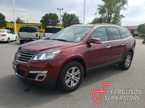 Pre-Owned 2016 Chevrolet Traverse LT AWD near Tulsa, OK
