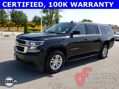Certified Pre-Owned 2019 Chevrolet Suburban LT 4WD near Tulsa, OK