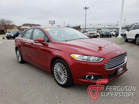 Pre-Owned 2016 Ford Fusion SE FWD 4D Sedan near Tulsa, OK