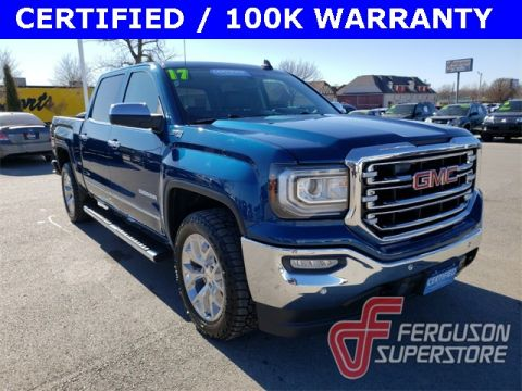 Certified Pre-Owned 2017 GMC Sierra 1500 SLT 4WD near Tulsa, OK