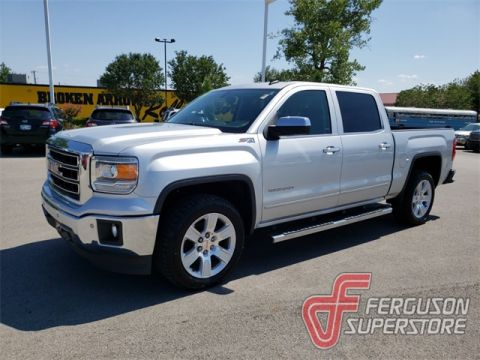 Pre-Owned 2014 GMC Sierra 1500 SLT 4WD near Tulsa, OK