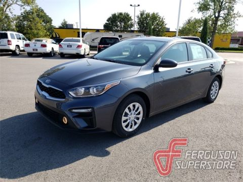 New 2020 Kia Forte FE FWD 4D Sedan near Tulsa, OK