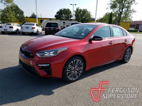 New 2020 Kia Forte GT FWD 4D Sedan near Tulsa, OK