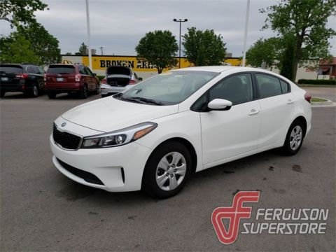 New 2018 Kia Forte LX FWD 4D Sedan near Tulsa, OK