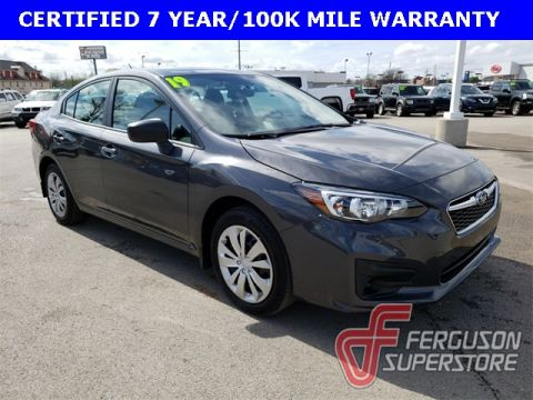 Certified Pre-Owned 2019 Subaru Impreza 2.0i AWD near Tulsa, OK