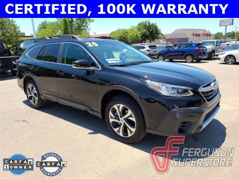 Certified Pre-Owned 2020 Subaru Outback Limited AWD near Tulsa, OK