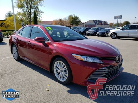 Pre-Owned 2018 Toyota Camry XLE FWD 4D Sedan near Tulsa, OK