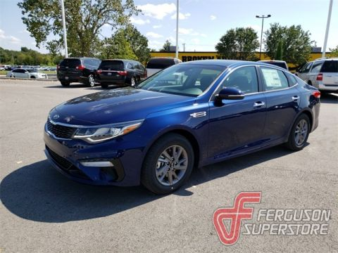New 2020 Kia Optima LX FWD 4D Sedan near Tulsa, OK