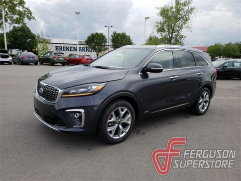 New 2019 Kia Sorento SX With Navigation & AWD near Tulsa, OK