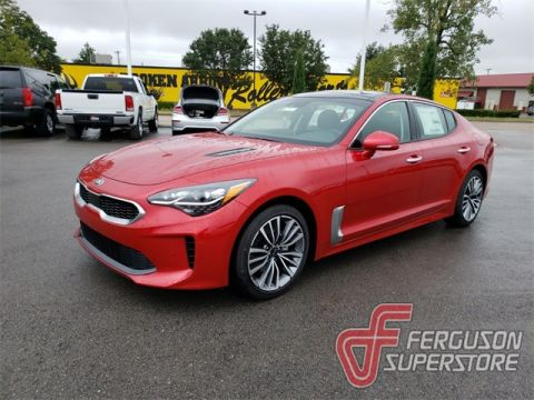 New 2019 Kia Stinger Premium With Navigation near Tulsa, OK