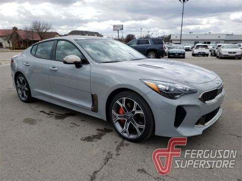New 2020 Kia Stinger GT2 With Navigation & AWD near Tulsa, OK