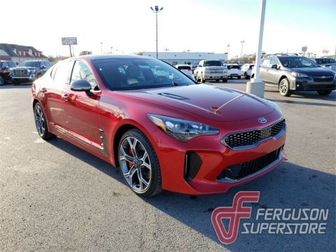New 2019 Kia Stinger GT2 With Navigation near Tulsa, OK