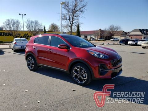 New 2020 Kia Sportage SX With Navigation near Tulsa, OK