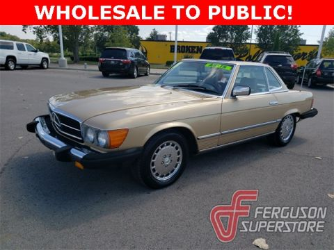 Pre-Owned 1985 Mercedes-Benz 300 380 SL RWD 2D Convertible near Tulsa, OK